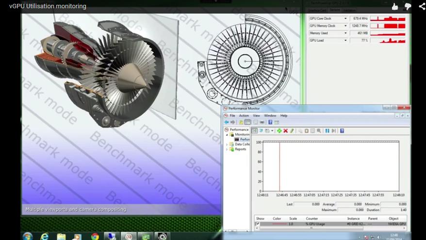 Limitations in monitoring shared NVIDIA GPU technologies – Virtually