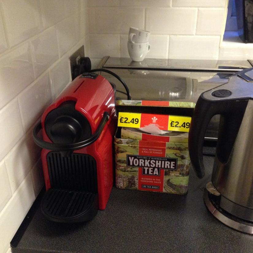 Coffee vs. Tea – Product packaging, marketing andlicensing