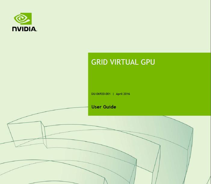 "New NVIDIA vGPU profiles – dial ""B"" for business! – Virtually Visual"